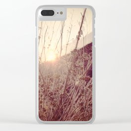 In a Different Light Clear iPhone Case