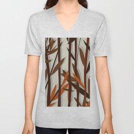 Autumn willow Unisex V-Neck