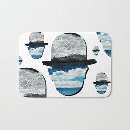 Ceci n'est pas une Magritte Bath Mat