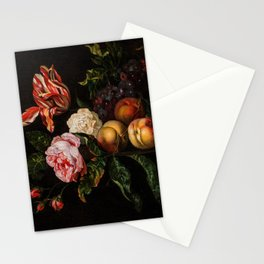 """Ernst Stuven """"Still-life with peaches"""" Stationery Cards"""