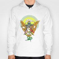 hindu Hoodies featuring Hindu Universe by MARICAMA