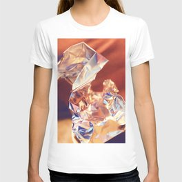 Abstract Fine Art from Macro Photography, Foil Manipulation T-shirt
