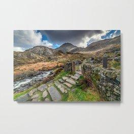Gate to Snowdonia Metal Print