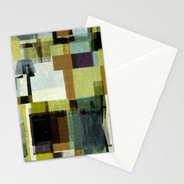 modern mid century, Geometric art, contemporary art, Scandinavian art, retro art, poster print, fami Stationery Cards