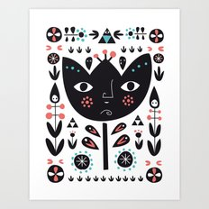 Folksy - Day Art Print