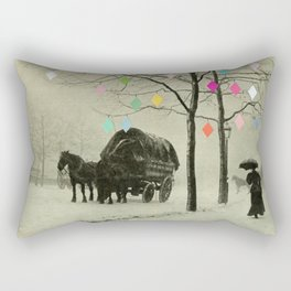 Christmas Day Rectangular Pillow