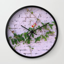 Nature finds a way Wall Clock