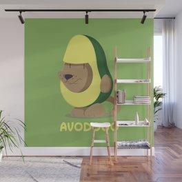 Delicious Avodogo - Dog & Avocado Lovers Shirt Wall Mural