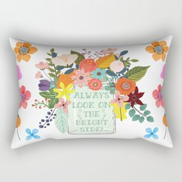 Always Look On The Bright Side Rectangular Pillow