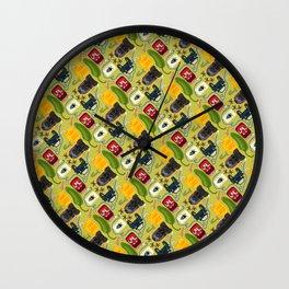 Jalepeno Juice Jam Wall Clock