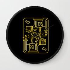 King of Hearts Wall Clock