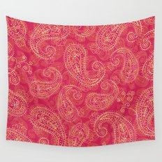 Crazy Paisley Wall Tapestry