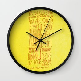Kate Bingaman Burt Wall Clock