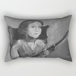 Loretta. Rectangular Pillow