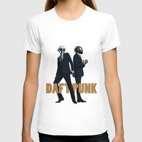 daft punk T-shirts featuring Daft Punk by joshuahillustration