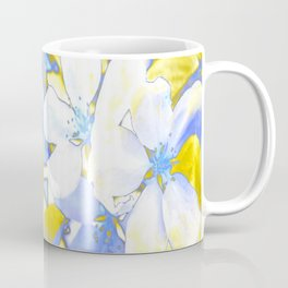 Bathed in Gold and Blue Coffee Mug
