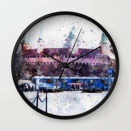 Cracow art 28 #cracow #krakow #city Wall Clock