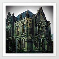 Church of Stone Art Print