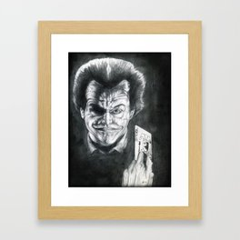 The Jocker Jardez Framed Art Print