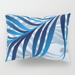 Blue Tropic Pillow Sham