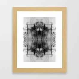 Chasm Framed Art Print