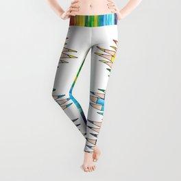 colored pencils Leggings