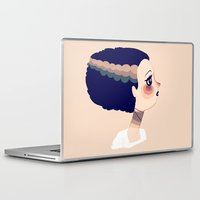 bride Laptop & iPad Skins featuring The Bride by Nan Lawson