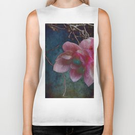 Timeless - Magnolia Blossoms Biker Tank