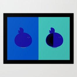 Living/Dead Onion Art Print