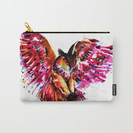 Flying Owl Carry-All Pouch