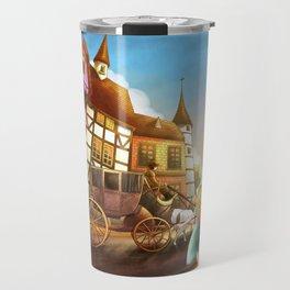 The Bavarian Village Travel Mug