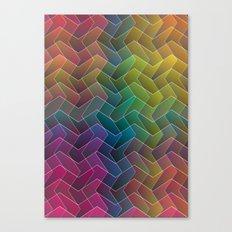 Zigzag & Zigzag 2 Canvas Print