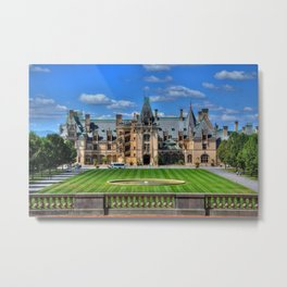 Biltmore Mansion Estate Asheville North Carolina Metal Print