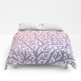 Fan Coral – Rose Quartz & Serenity Comforters