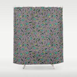 Inspired by falling leaves Shower Curtain