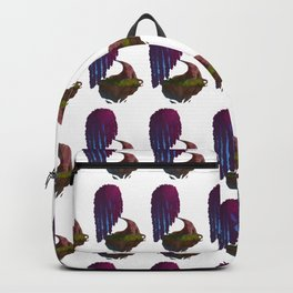 Floating weeping willow Backpack