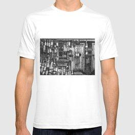 B&W Fishing Shack T-shirt