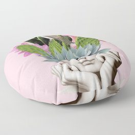 Cactus Lady Floor Pillow