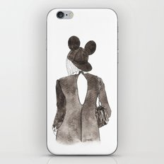 Black in Paris iPhone & iPod Skin