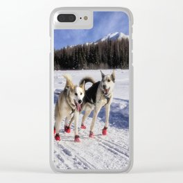 Ready to run Clear iPhone Case