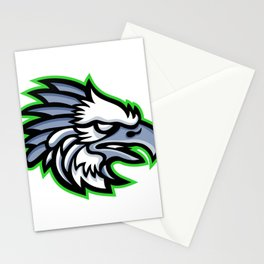 American Harpy Eagle Mascot Stationery Cards