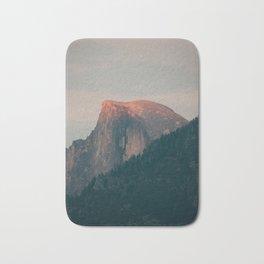 Half Dome Sunset in Yosemite Bath Mat