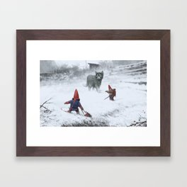 furry demon Framed Art Print