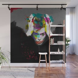 """Scary Monsters / Super Freaks"" - Bowie Wall Mural"