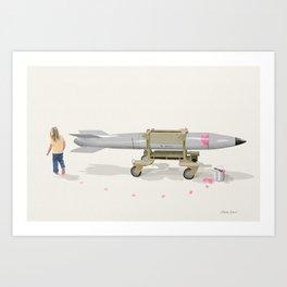 Sabotage Art Print