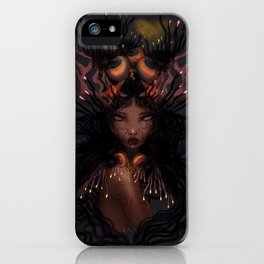 Coral queen iPhone Case