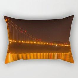 Golden Gate Reflection Rectangular Pillow