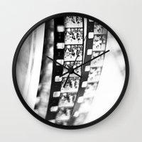 film Wall Clocks featuring film by Ingrid Beddoes