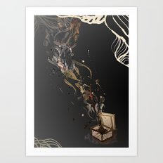 Chaos. Art Print