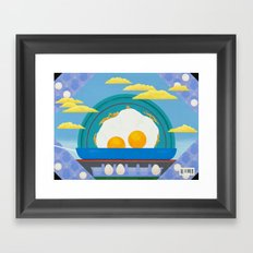 Sunny Up (On The Range) Framed Art Print